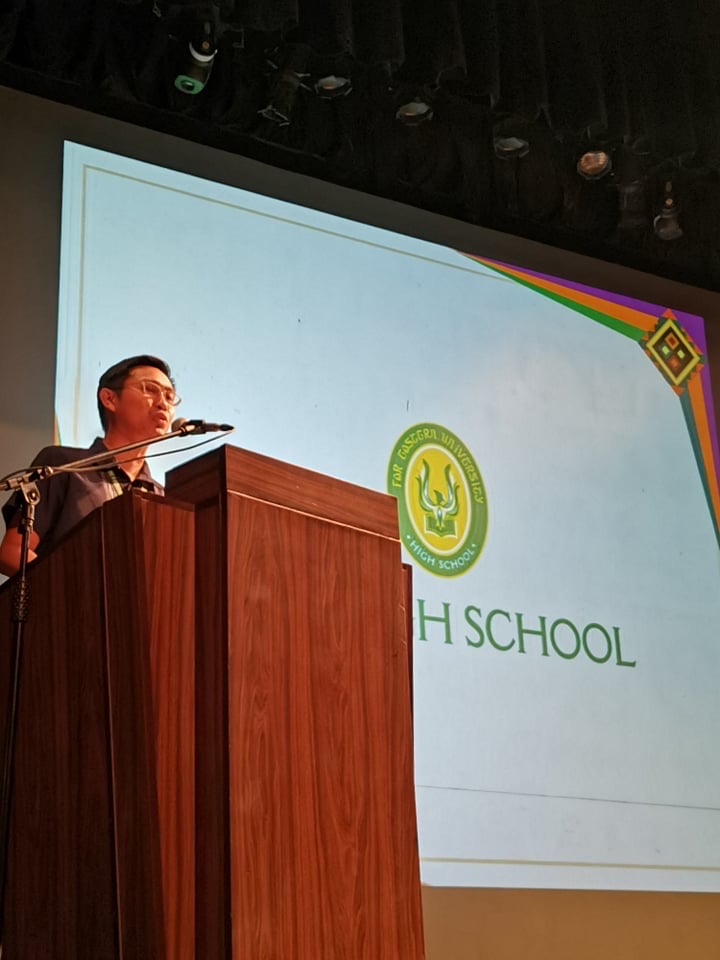 FEUHS hosted a DepEd conference on ELLNA, NAT, and BEEA