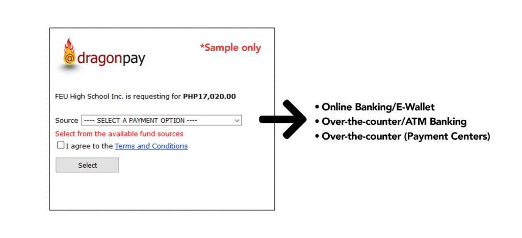 Payment via Dragonpay