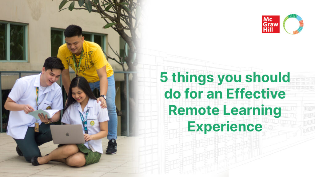 5 things you should do for an Effective Remote Learning Experience