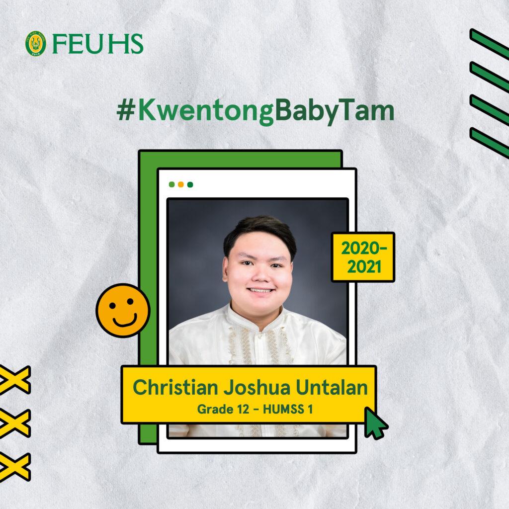 #KwentongBabyTam: Christian Joshua Untalan