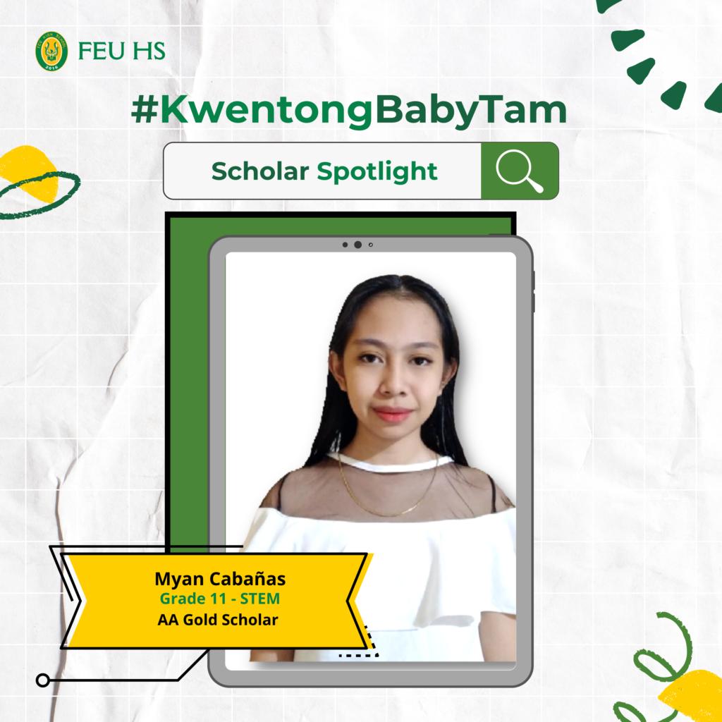 #KwentongBabyTam: Scholar Spotlight, Dece's dedication